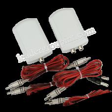 Active electrode-double Vector
